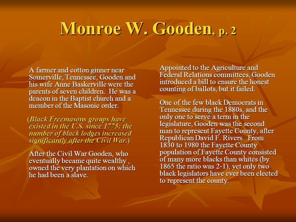Monroe W. Gooden, p. 2
