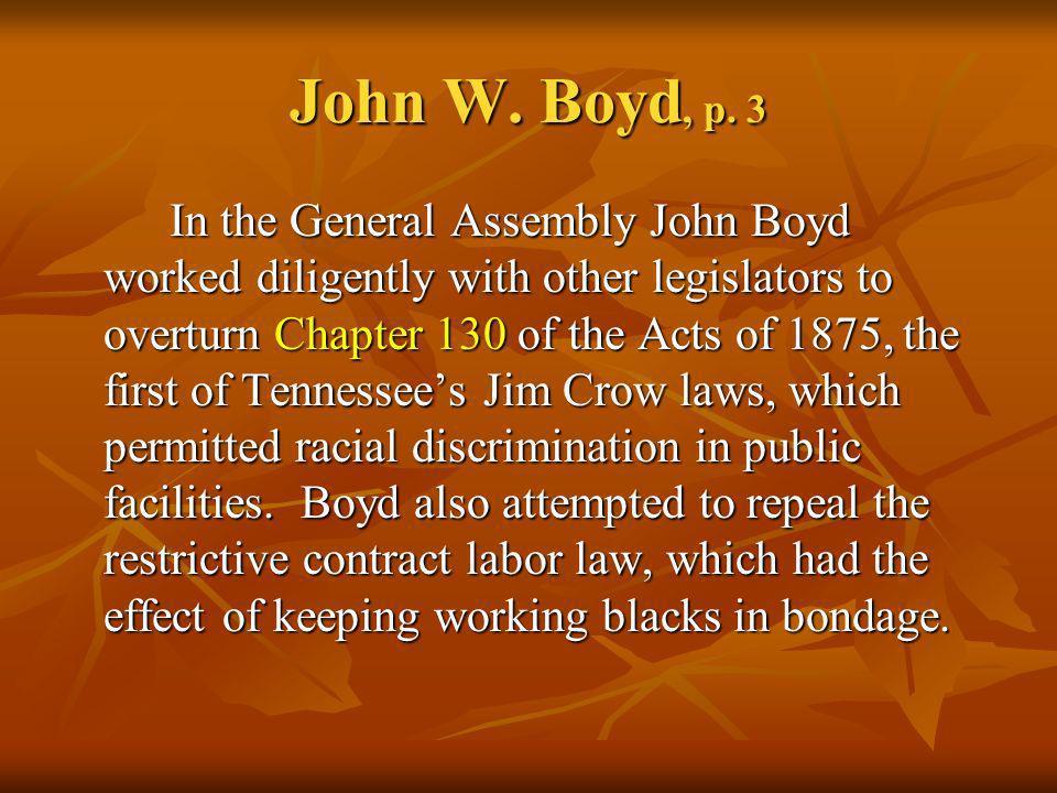 John W. Boyd, p. 3