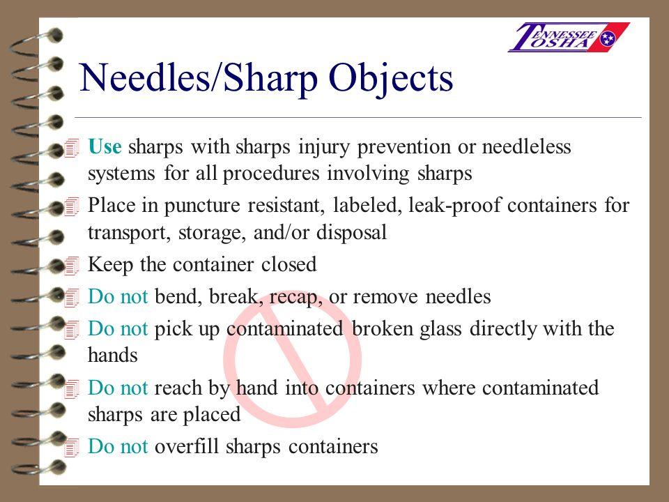 Needles/Sharp Objects