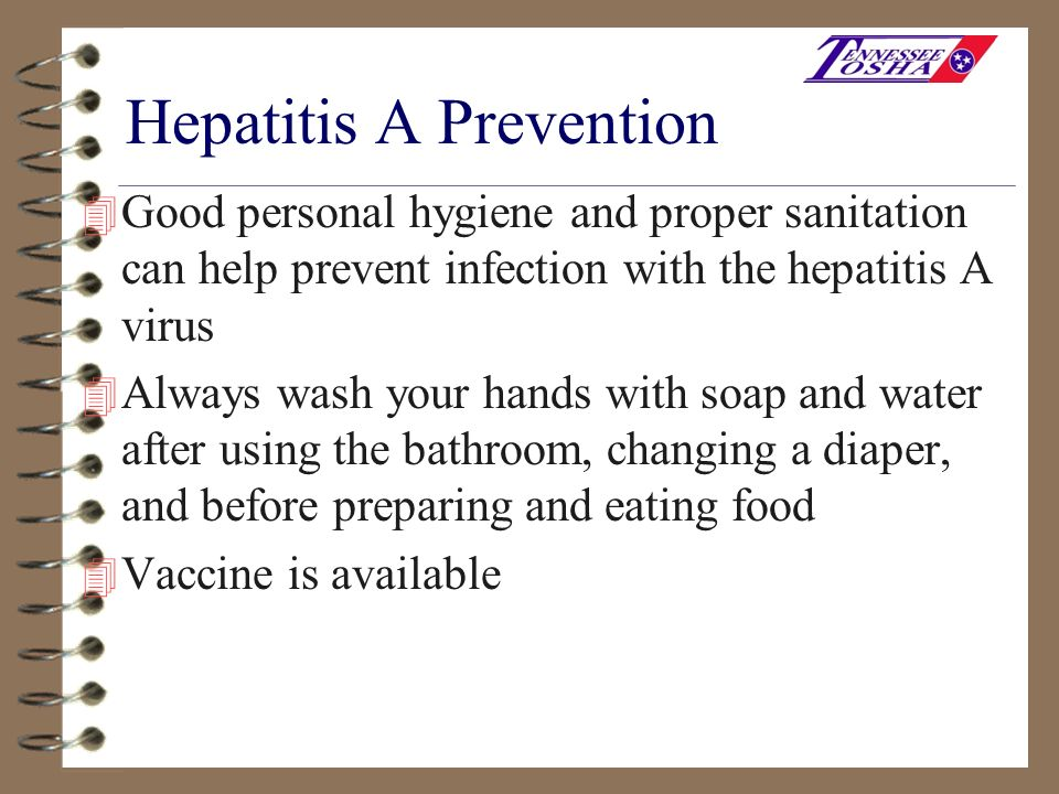 Hepatitis A Prevention