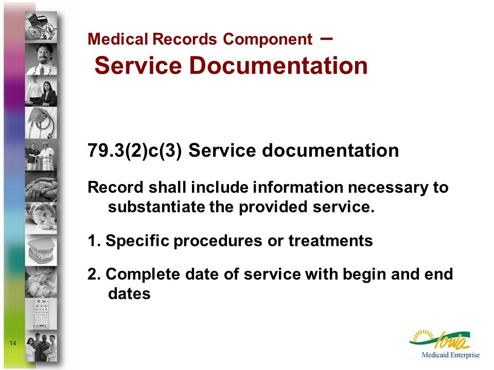 Medical Records Component – Service Documentation