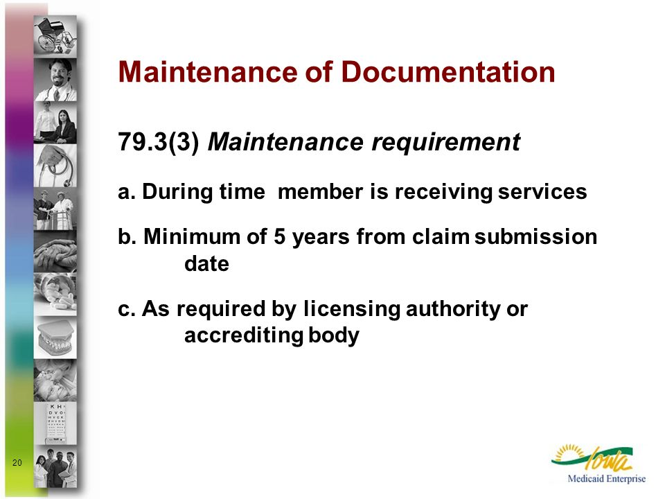 Maintenance of Documentation