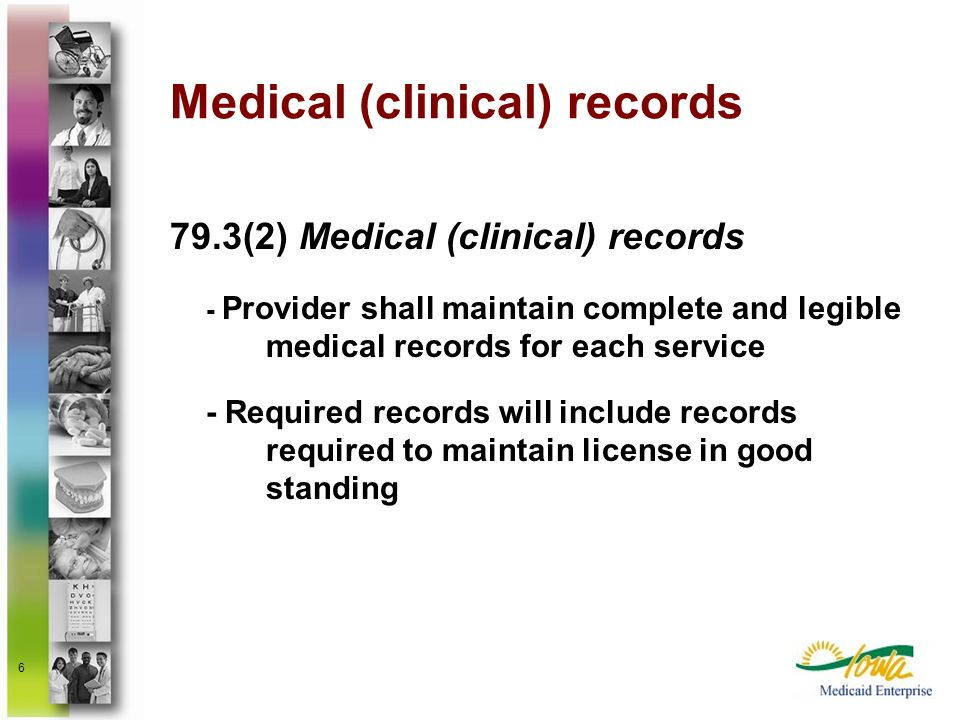 Medical (clinical) records