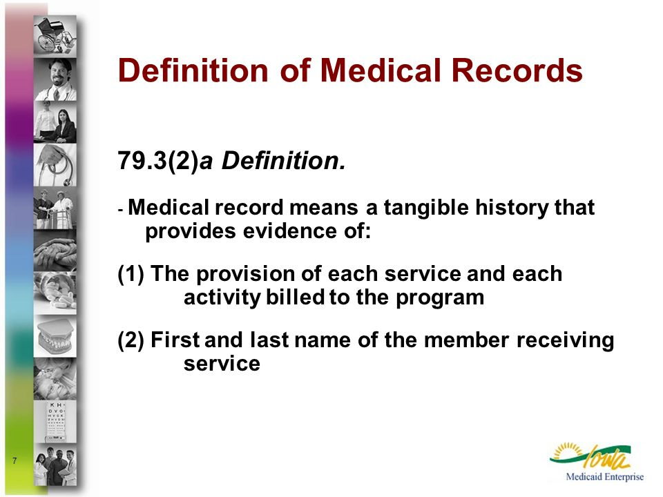Definition of Medical Records