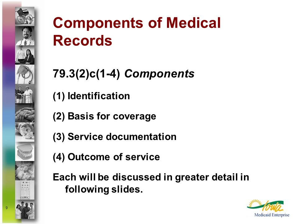 Components of Medical Records