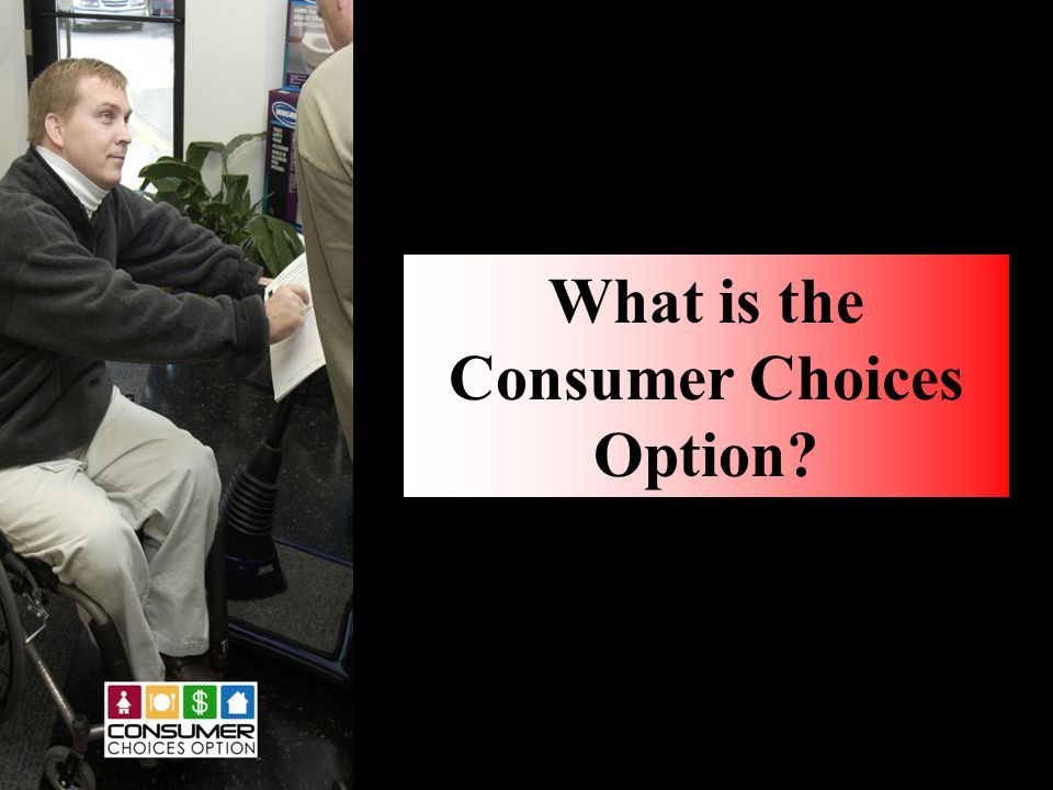 What is the Consumer Choices Option