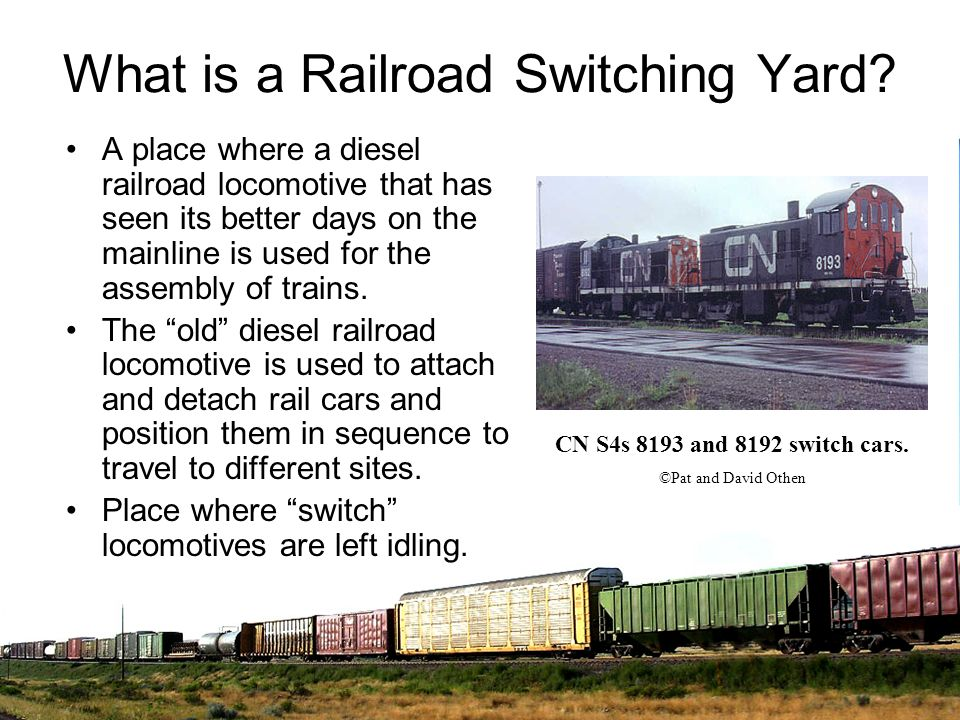 What is a Railroad Switching Yard