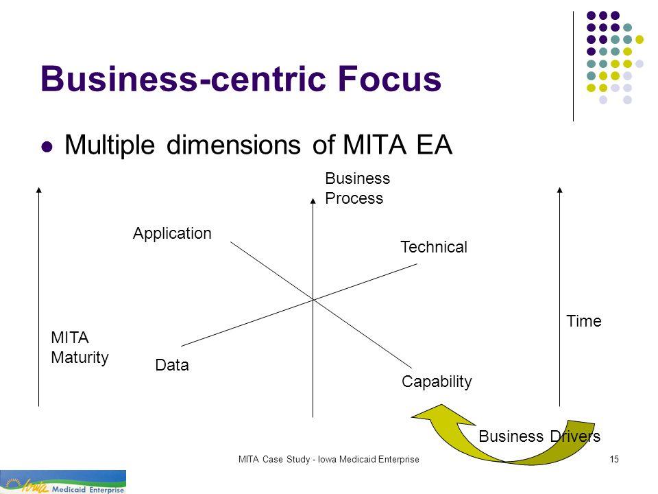 Business-centric Focus