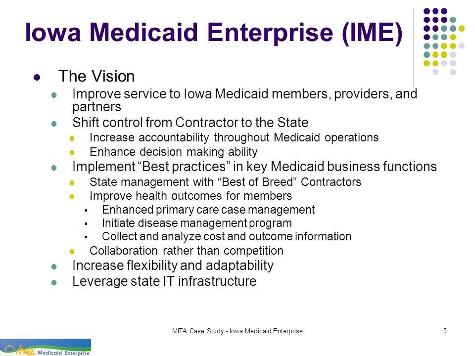 Iowa Medicaid Enterprise (IME)