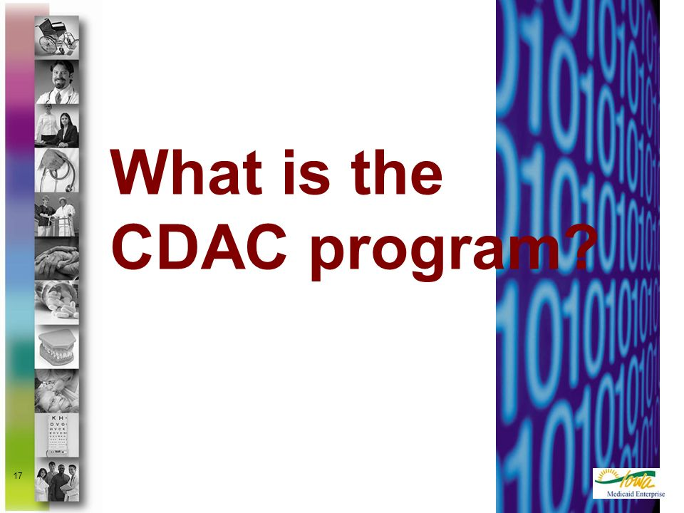 What is the CDAC program