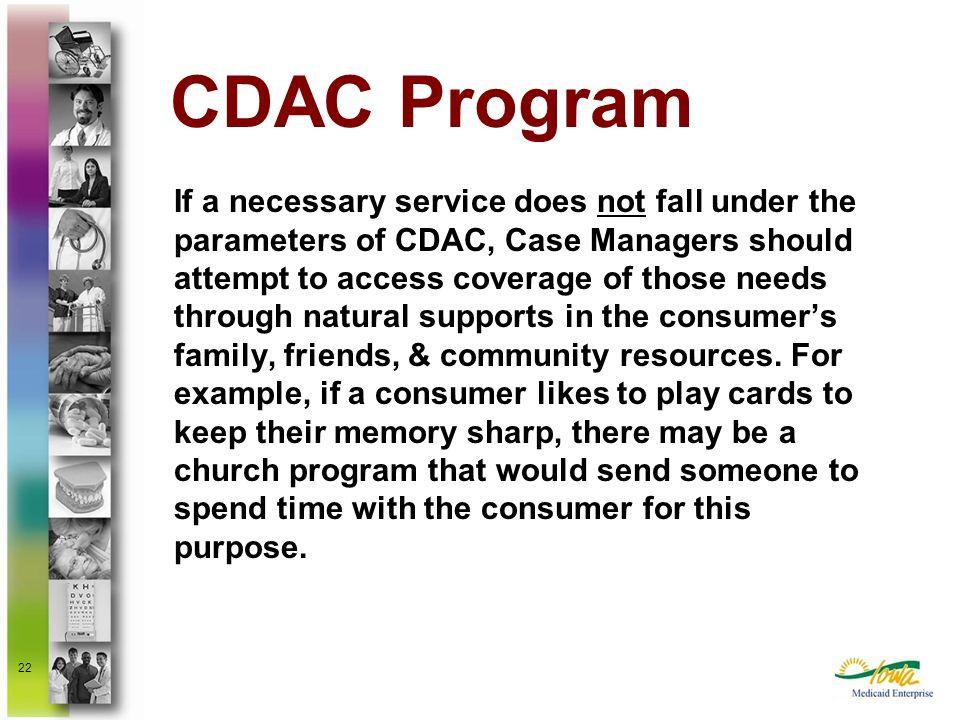 CDAC Program