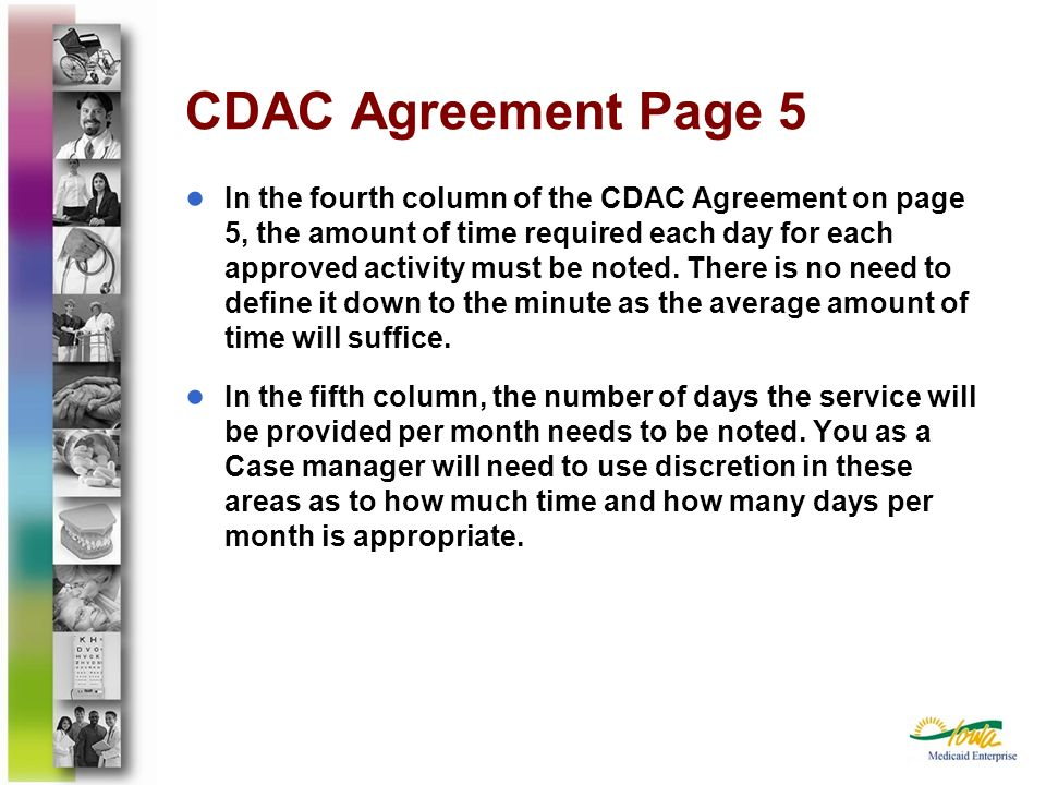 CDAC Agreement Page 5