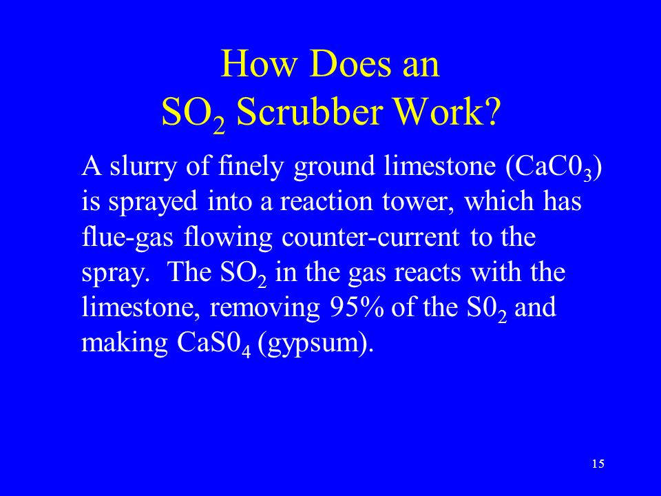 How Does an SO2 Scrubber Work