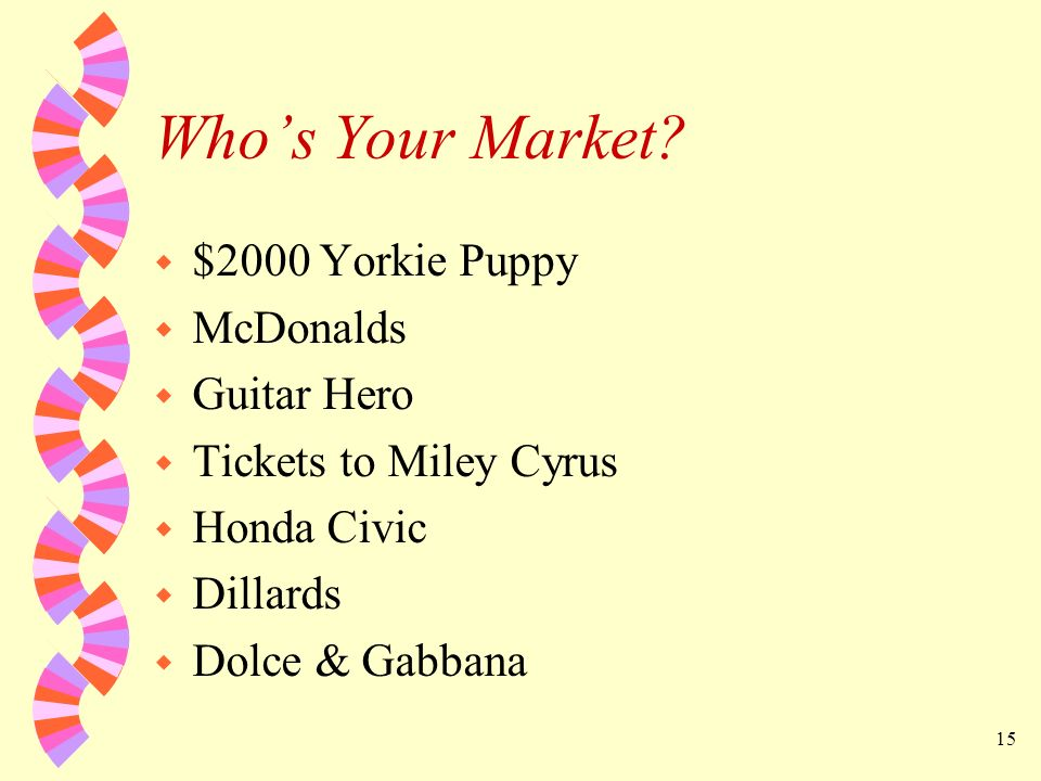Who's Your Market $2000 Yorkie Puppy McDonalds Guitar Hero