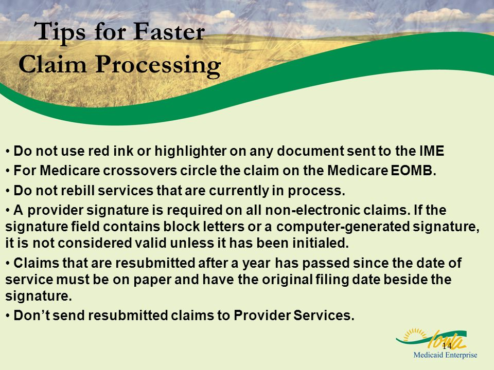 Tips for Faster Claim Processing