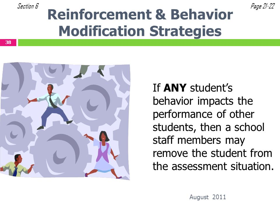 Reinforcement & Behavior Modification Strategies