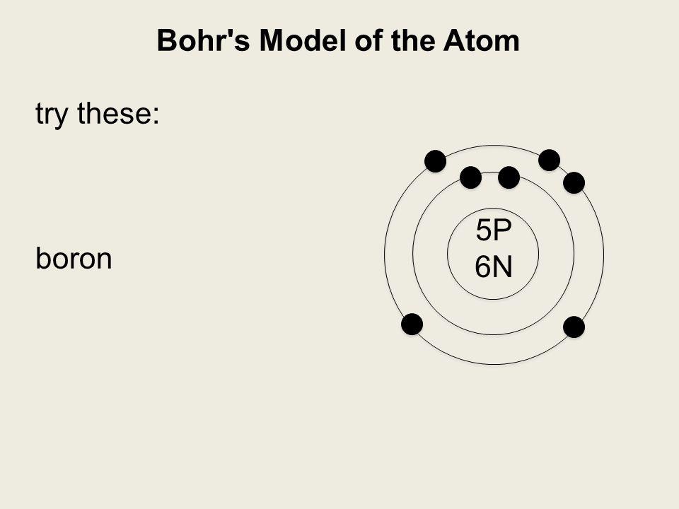 zinc bohr diagram