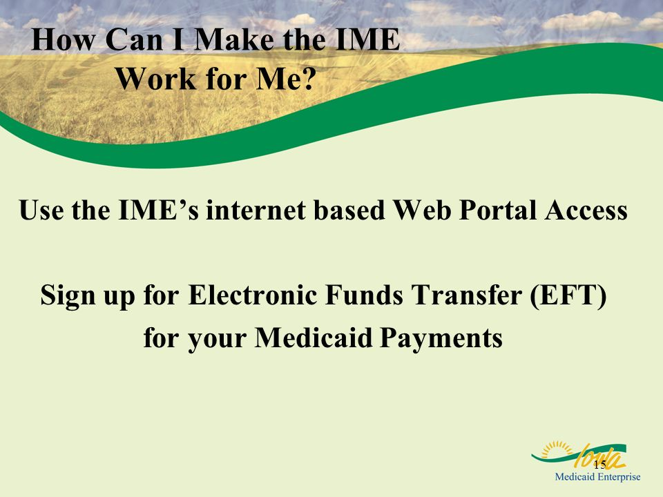 How Can I Make the IME Work for Me