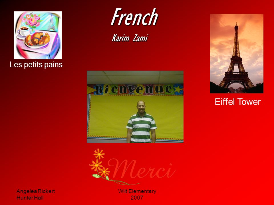 French Karim Zami Eiffel Tower Les petits pains Angelea Rickert