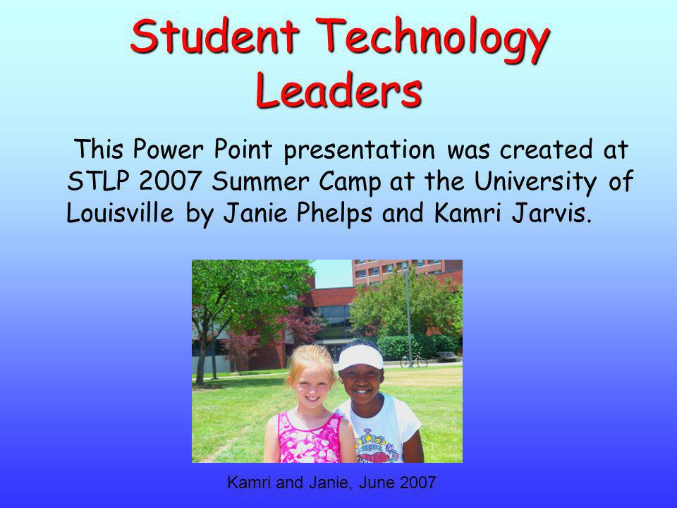 Student Technology Leaders