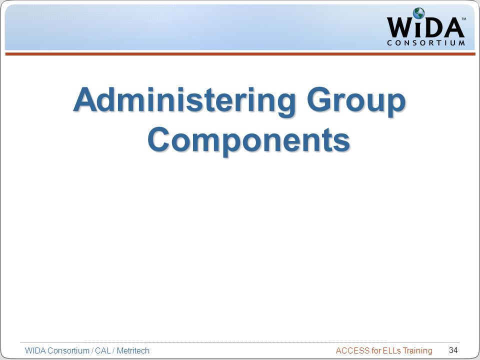 Administering Group Components