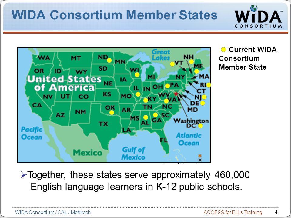 WIDA Consortium Member States