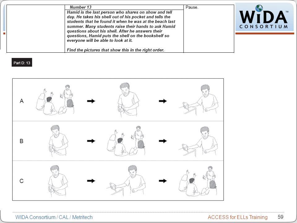WIDA Consortium / CAL / Metritech