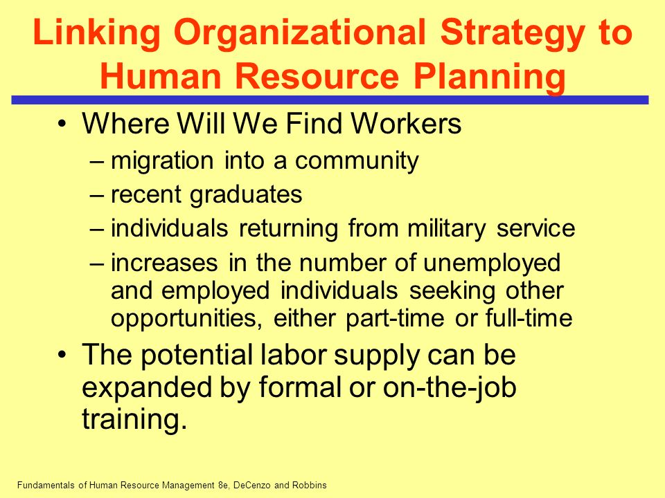 human resource planning in a healthcare organisation Human resource planning human resource planning is a systematic process of forecasting both the prospective demand for and supply of manpower, and employment of skills with the objectives of the organization.