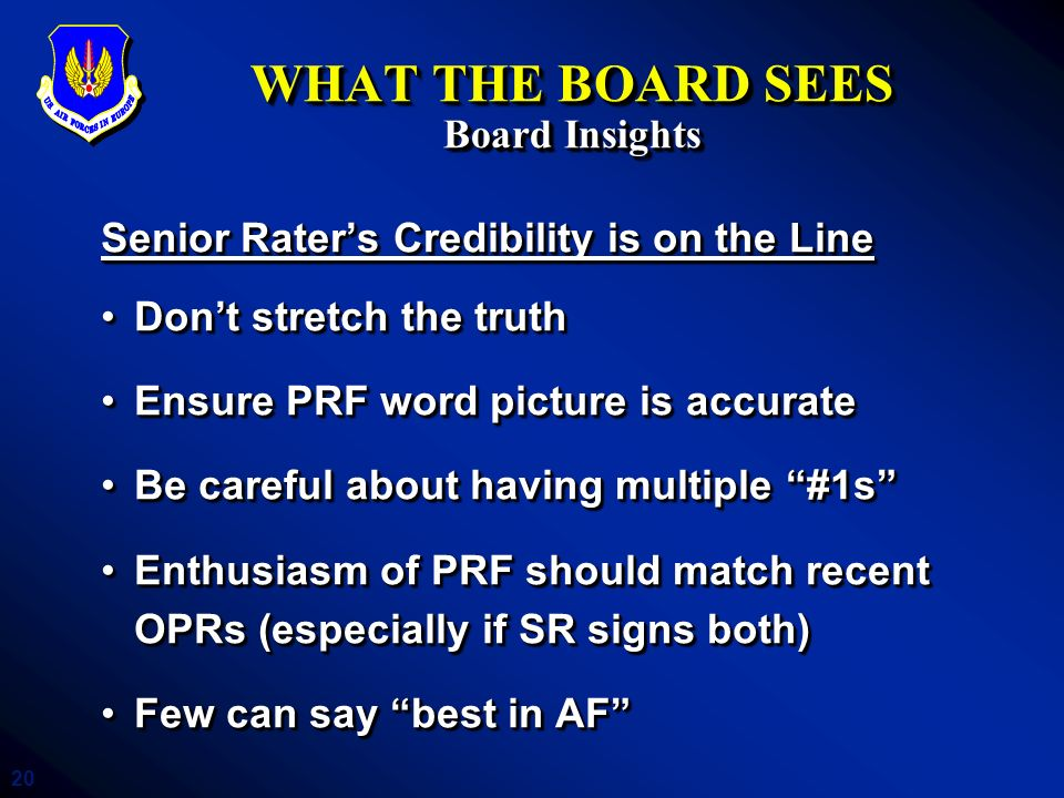 WHAT THE BOARD SEES Board Insights