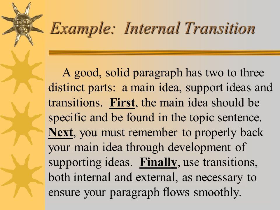 Example: Internal Transition