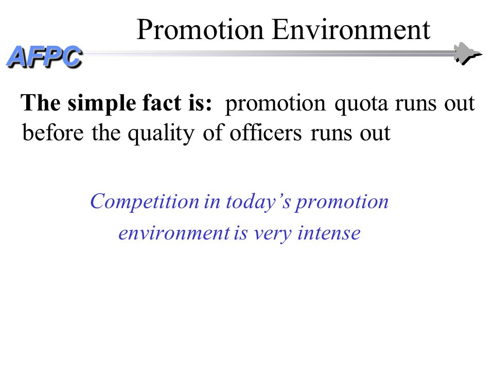 Promotion Environment