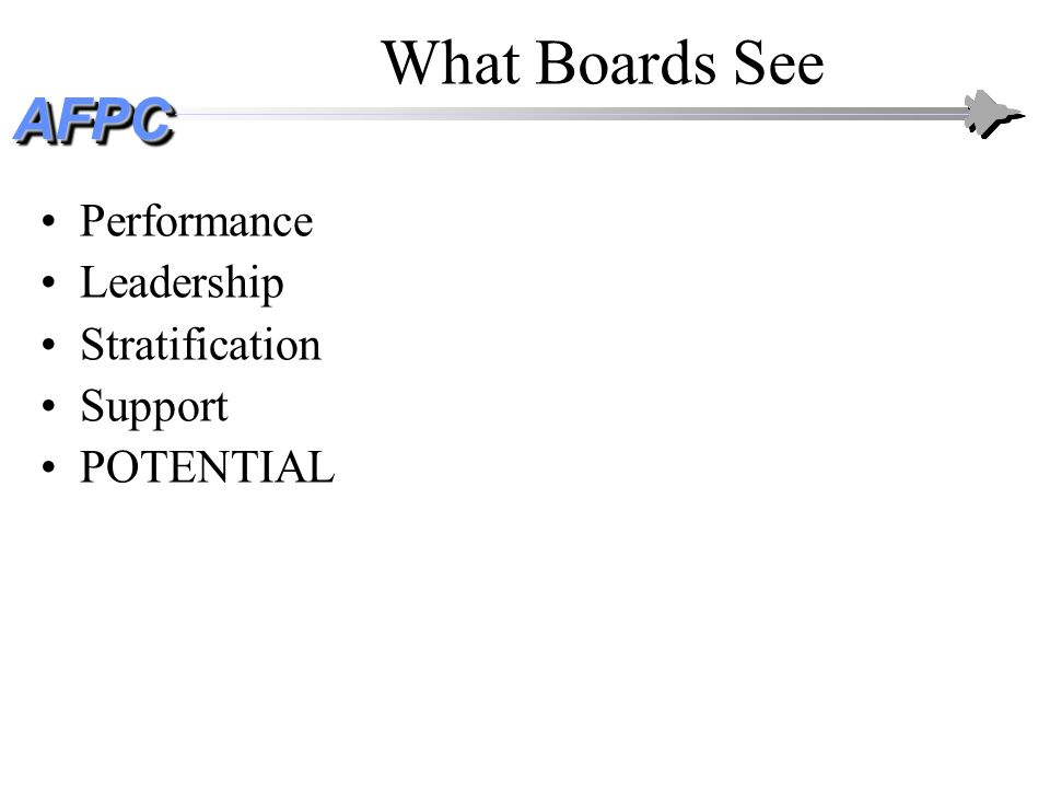 What Boards See Performance Leadership Stratification Support