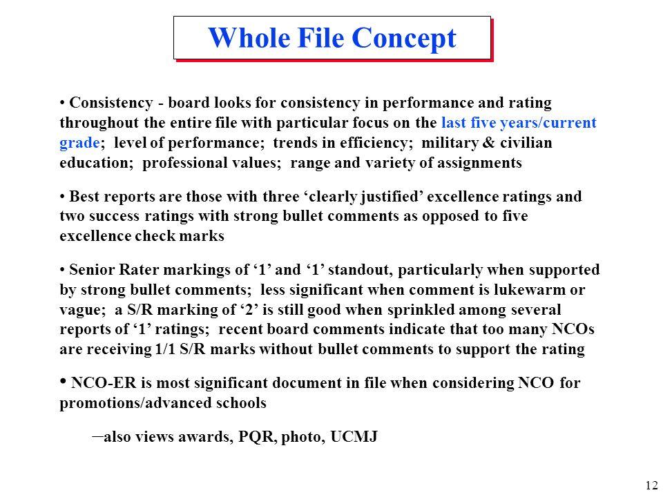 Whole File Concept