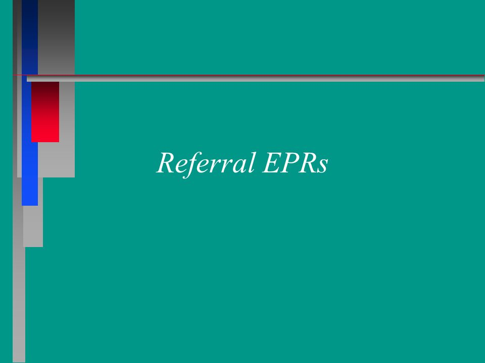Referral EPRs 24