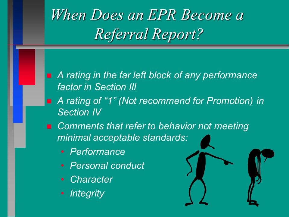 When Does an EPR Become a Referral Report