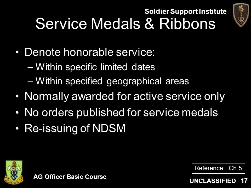 Service Medals & Ribbons