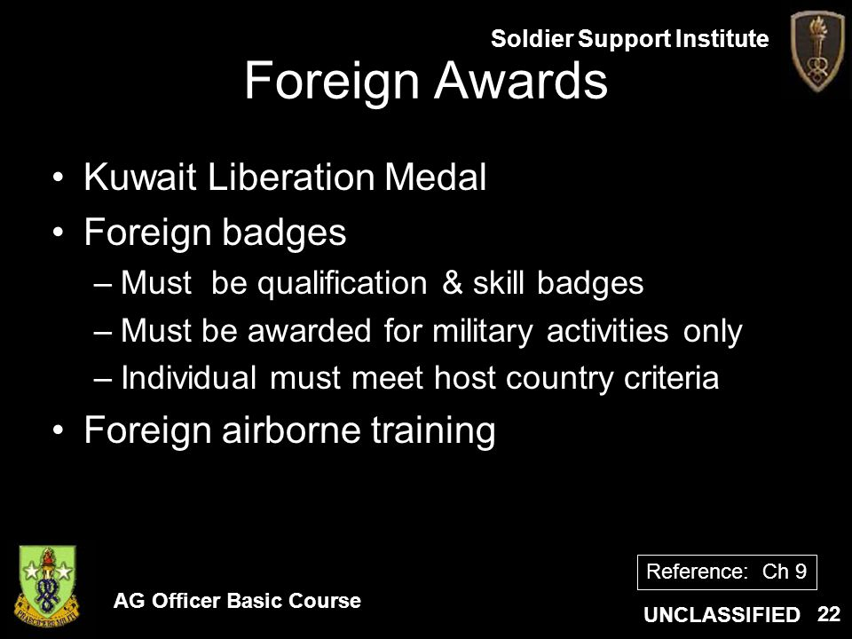 Foreign Awards Kuwait Liberation Medal Foreign badges