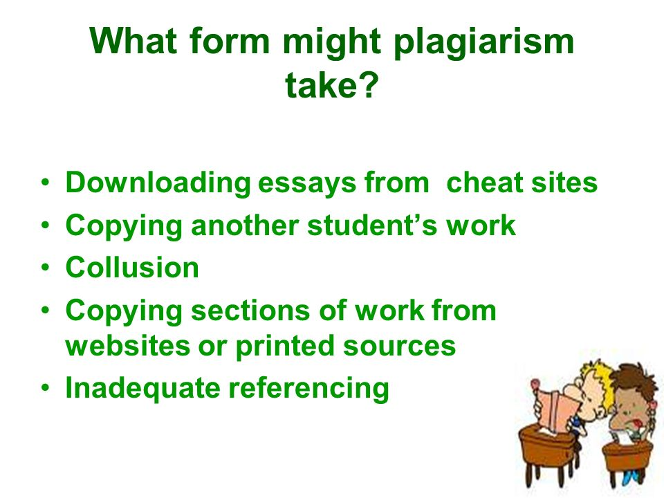 student plagiarism essay A student turned in an essay that had substantial and extensive copying from a published source a ta noticed that the composition of the essay was problematic the student acknowledged failing to properly cite sources, but contested that it was an honor code violation on the basis that he misunderstood the directions and did not intend to.