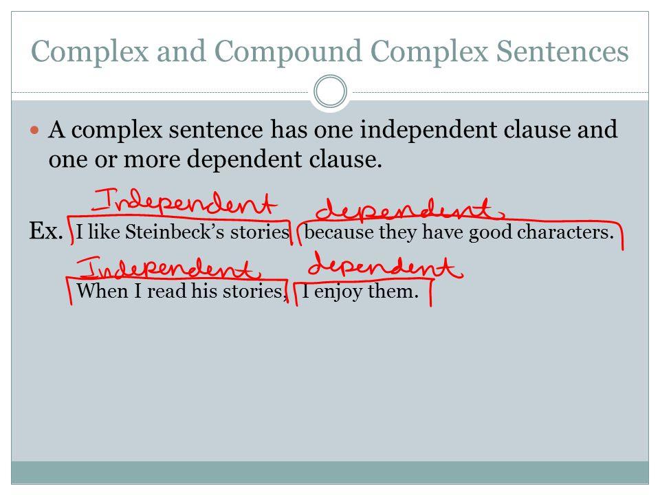 how to write long compound complex sentences