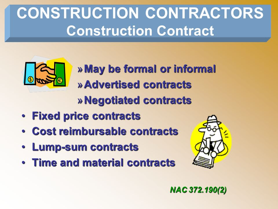 STATE OF NEVADA DEPARTMENT OF TAXATION ppt download – Time and Materials Construction Contract