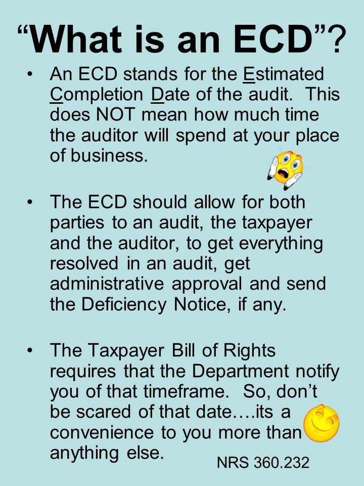 What is an ECD