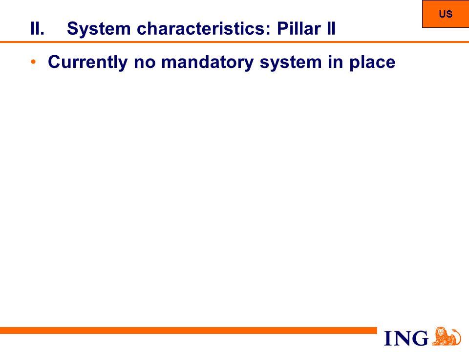 System characteristics: Pillar II