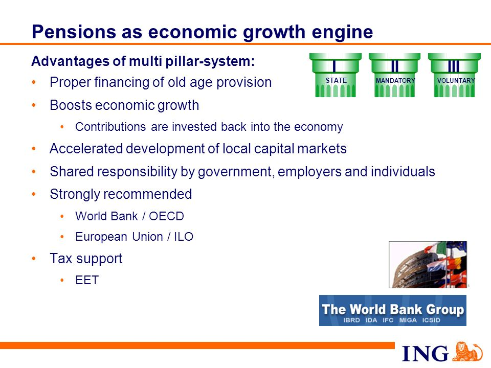 Pensions as economic growth engine