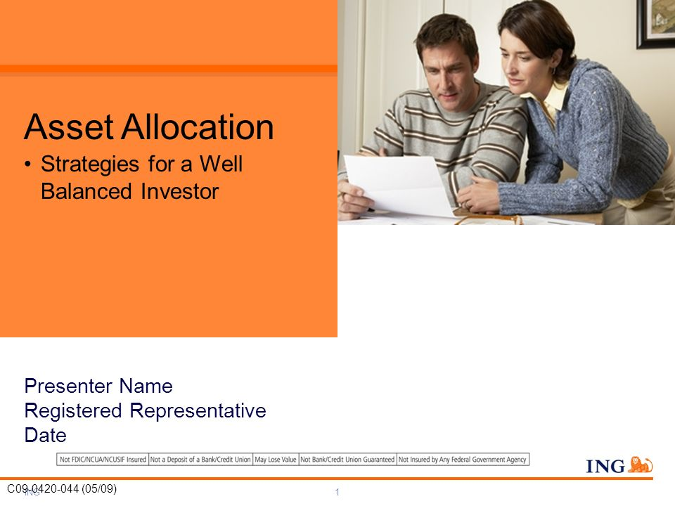 Asset Allocation Strategies for a Well Balanced Investor