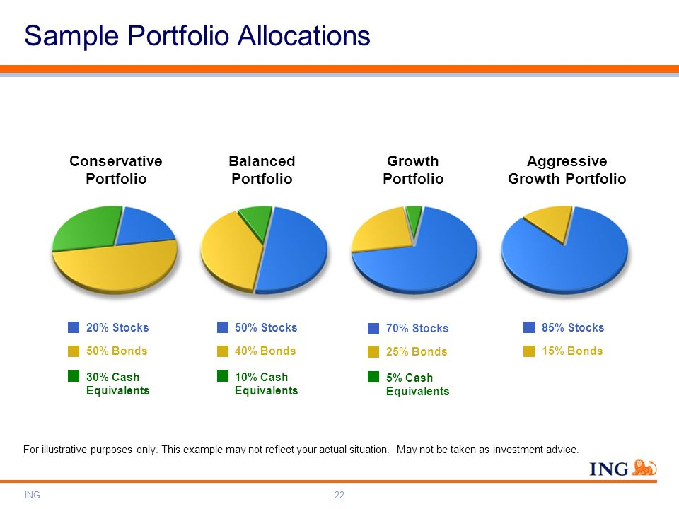 Conservative Portfolio Aggressive Growth Portfolio