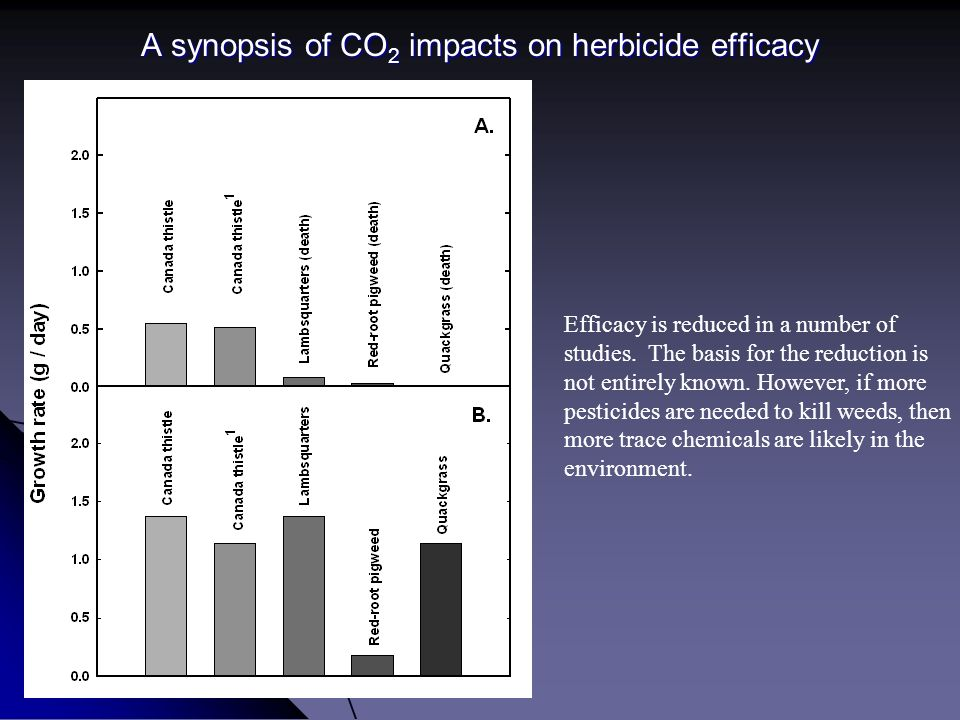 A synopsis of CO2 impacts on herbicide efficacy