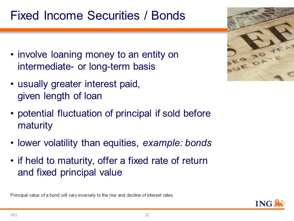 Fixed Income Securities / Bonds