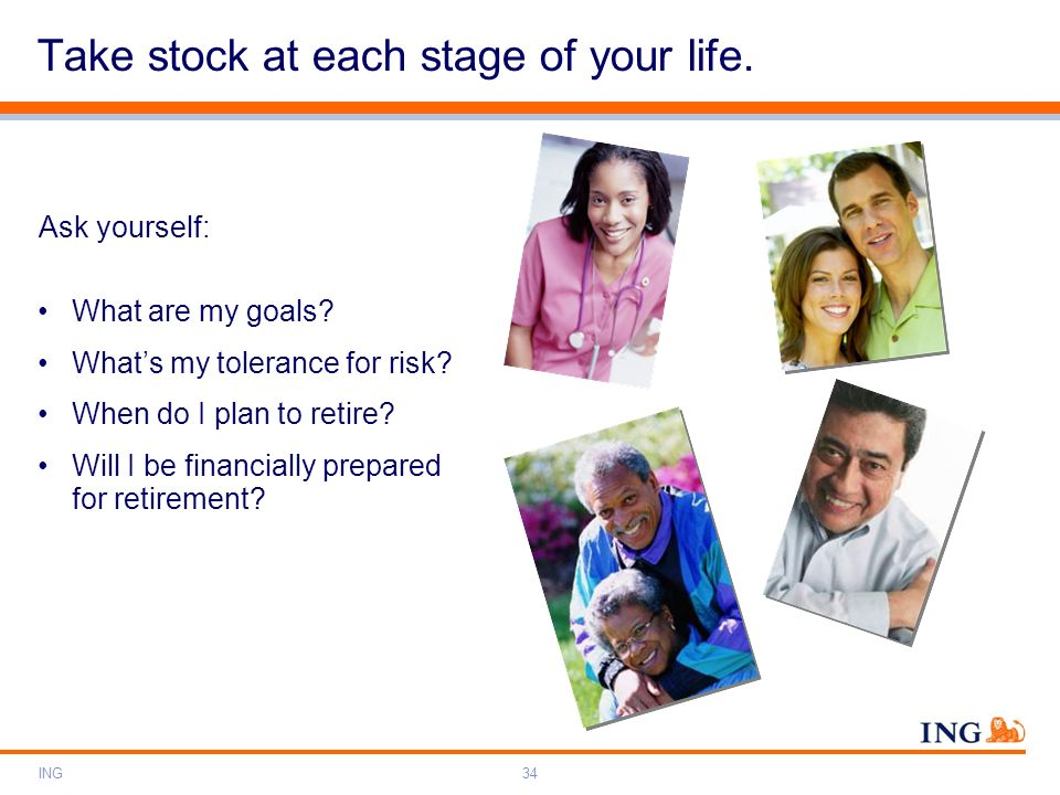 Take stock at each stage of your life.