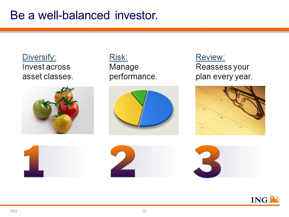 Be a well-balanced investor.