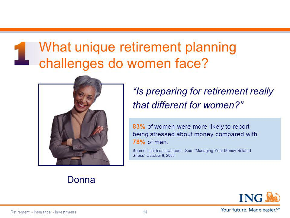 What unique retirement planning challenges do women face